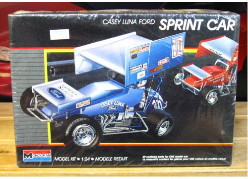 Monogram Casey Luna Ford Sprint Car Kit Sealed