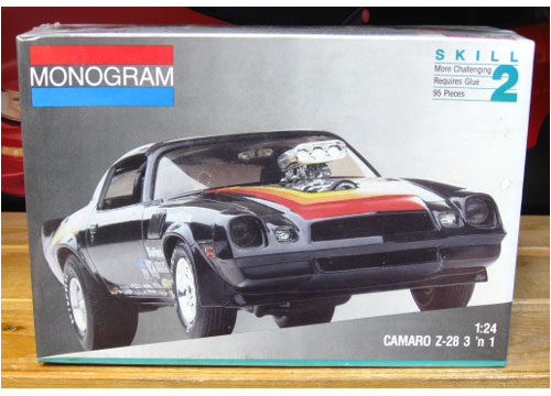 Monogram 1978 Camaro Z-28 1991 Issue Sealed