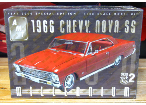 AMT 1966 Chevy Nova SS Millennium Kit Sealed