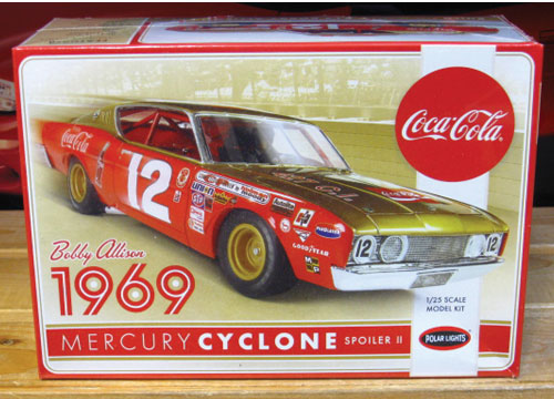 #12 Coca Cola Bobby Allison Cyclone Polar Lights NEW 2017 Issue
