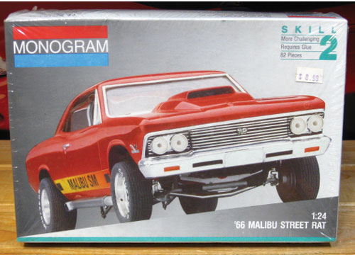 "Monogram 1966 Malibu ""Street Rat"" 1991 Issue Sealed"