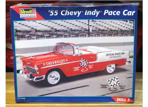 Revell 1955 Chevy Convertible Indy Pace Car Kit Sealed