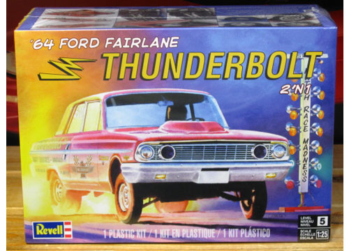 Revell Dick Brannan 1964 Ford Thunderbolt Kit New 2017 Issue