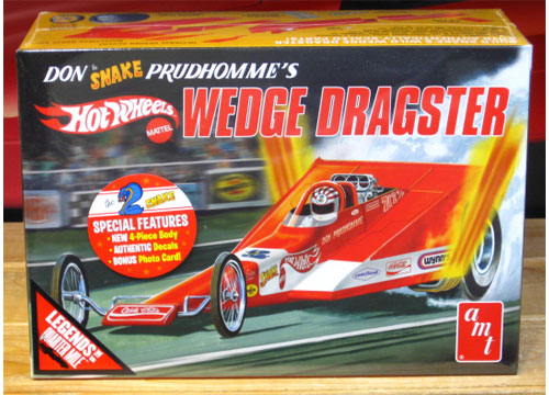 AMT Don Prudhomme Wedge Dragster Kit Sealed New 2017 Issue