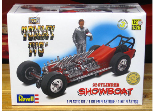 Revell Tommy Ivo's Showboat Four Engine Dragster Kit 2015 Issue Sealed