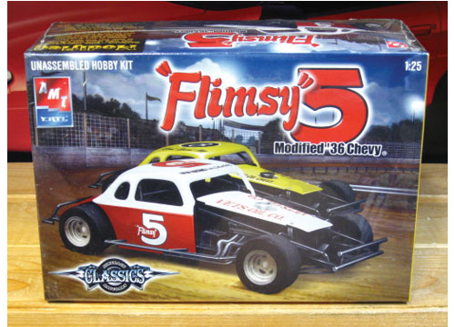 "DTR '36 Chevy ""Flimsy 5"" Modified Kit Sealed"