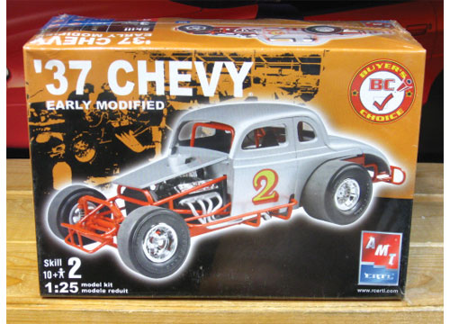 AMT '37 Chevy Early Modified Kit 2005 Issue Sealed