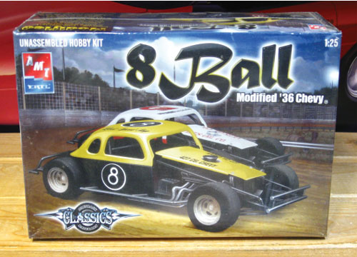 "DTR '36 Chevy ""8 Ball"" Modified Kit Sealed"