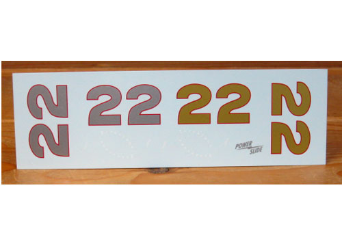 #22 Fireball Roberts Pontiac Optional Number Supplement