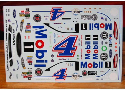 # 4 Mobil 1 Kevin Harvick 2017 Ford Fusion Powerslide #271