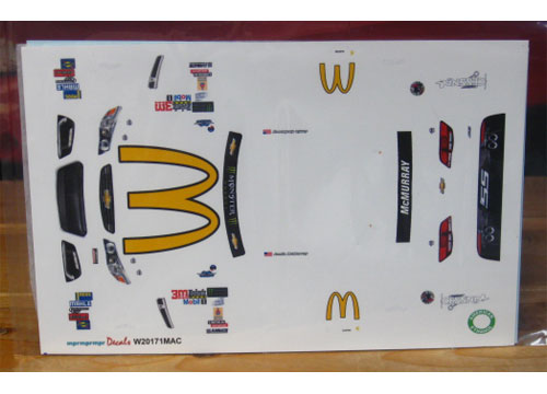 # 1 McDonalds Jamie McMurray 2017 Darlington MPR