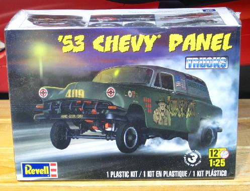 Revell '53 Chevy Panel 2013 Issue Sealed