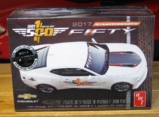 AMT 2017 Camaro Fifty Indy Pace Car Kit Sealed