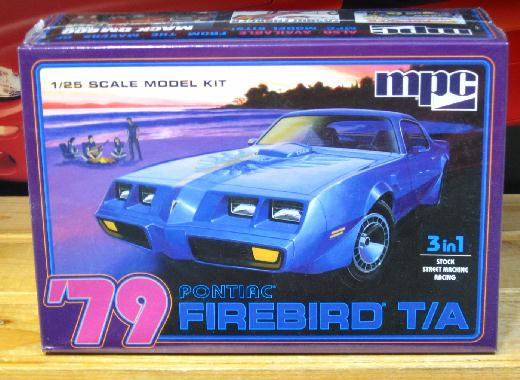 MPC 1979 Firebird T/A Kit 2015 Issue Sealed