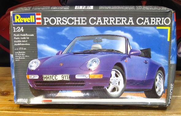 Revell Porsche Carrera Cabrio Kit Sealed