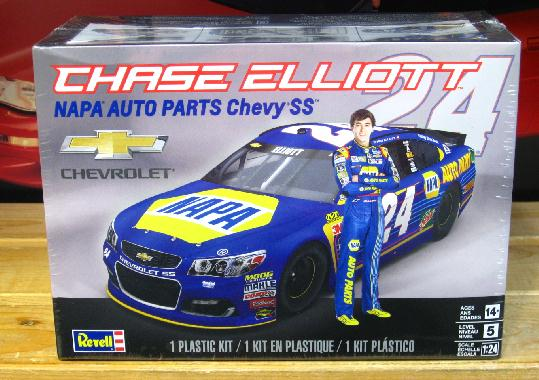 #24 Napa Chase Elliott 2017 Chevy SS Kit Sealed