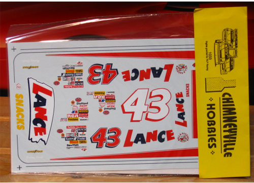 #43 Lance Snacks 1996 Chimneyville
