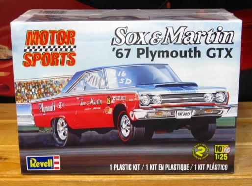 Revell Sox & Martin 1967 GTX 2012 Issue Sealed