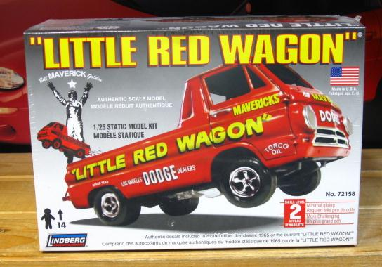 Lindberg Little Red Wagon 2009 Issue Sealed