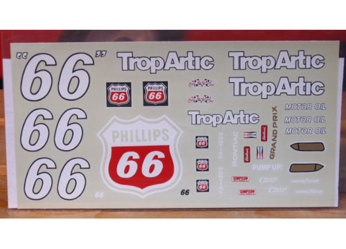 #66 Trop Artic Dick Trickle 1990 Late Season JNJ
