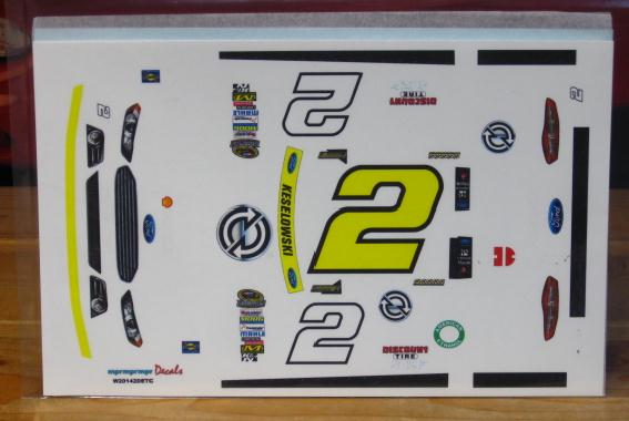 # 2 Detroit Genuine Parts Brad Keselowski 2014 Chase MPR