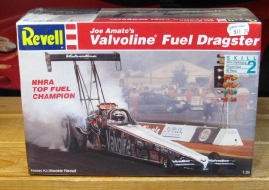 Revell Joe Amato Valvoline Top Fuel Kit Sealed