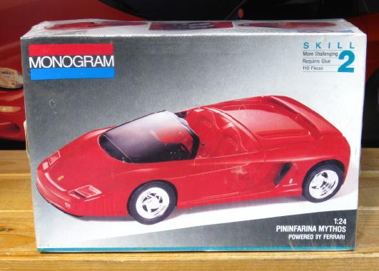 Monogram Ferrari Pininfarina Mythos Kit 1992 Issue Sealed