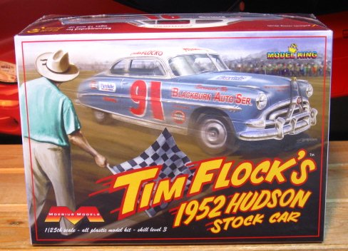 Moebius Models Tim Flock\'s 1952 Hudson Stock Car Kit Complete