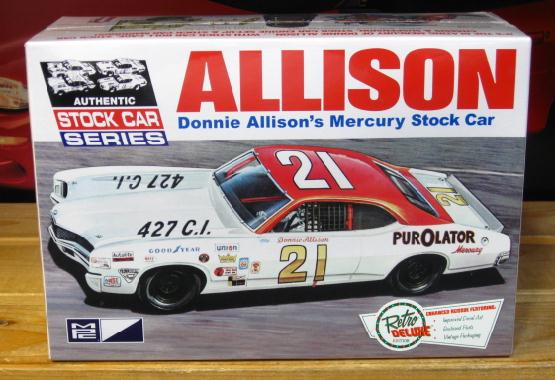 #21 Allison Purolator Mercury Cyclone MPC Kit 2014 Issue Sealed