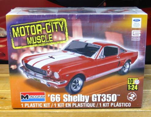 Monogram 1966 Shelby Mustang GT-350 Sealed