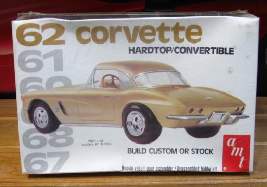 AMT 1962 Corvette 1970s Issue Sealed