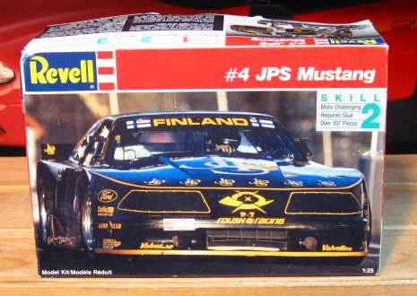 Revell #4 JPS Ford Mustang Trans Am Race Car Kit Sealed