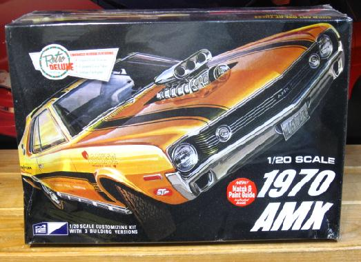 MPC 1970 AMX 1/20 Scale Kit Sealed