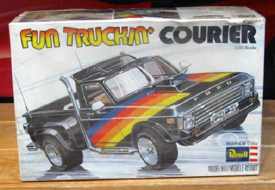 Revell Fun Truckin' Courier Original 1977 Issue Sealed