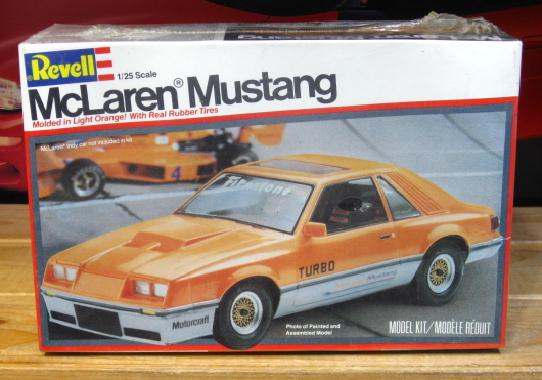 Revell McLaren Mustang Original 1981 Issue Sealed