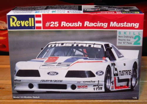 Revell #25 Rousch Racing Mustang SCCA Kit Sealed
