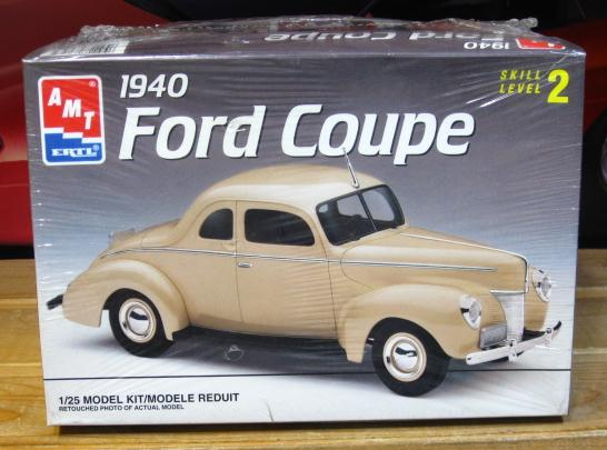 AMT 1940 Ford Coupe 1993 Issue Sealed