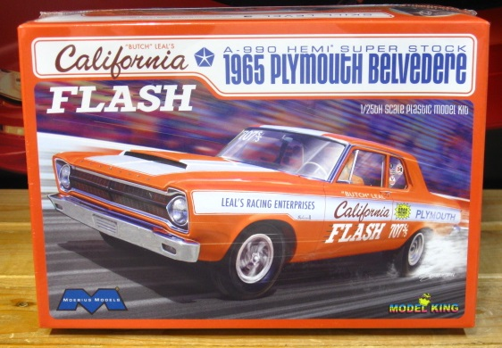 Moebius California Flash 1965 Plymouth Super Stock Kit NEW!