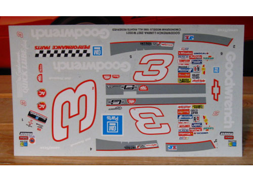 # 3 Goodwrench Dale Earnhardt 1990 Monogram