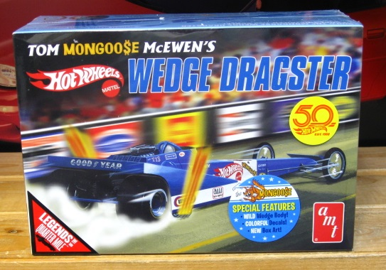 AMT Tom Mongoose McEwen Wedge Dragster Kit Sealed New 2017 Issue