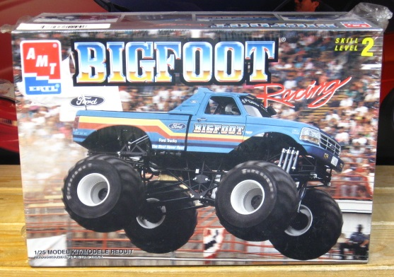AMT Bigfoot Monster Truck 1993 Issue Kit Sealed