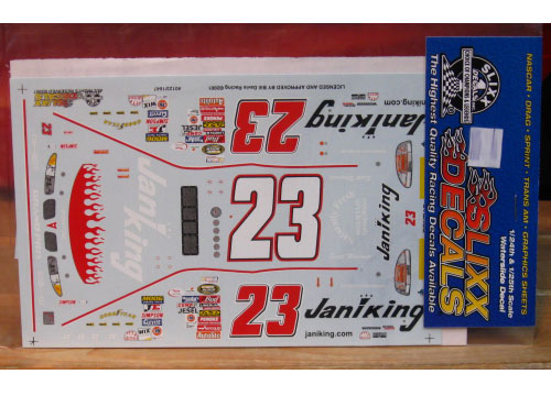 #23 Janiking Scott Wimmer 2001 Slixx