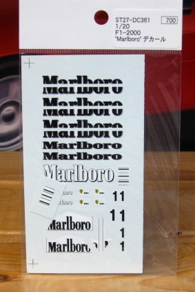 Studio 27 Marlboro Decals 1/20 Scale