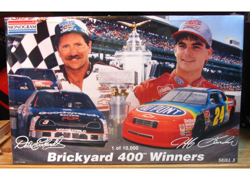 Monogram Brickyard 400 Winners Combo Sealed