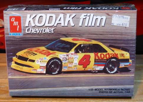 # 4 Kodak Lumina Ernie Irvan 1990 AMT Kit Sealed
