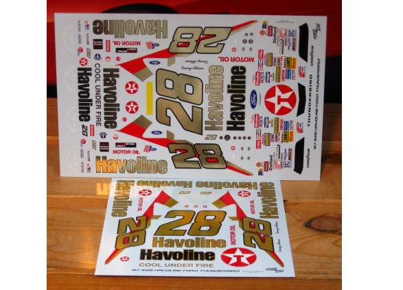 #28 Havoline Davey Allison 1987-88 Powerslide