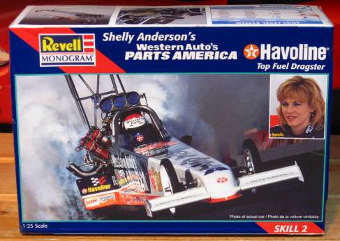 Revell Shelly Anderson Pats America Top Fuel Kit Sealed