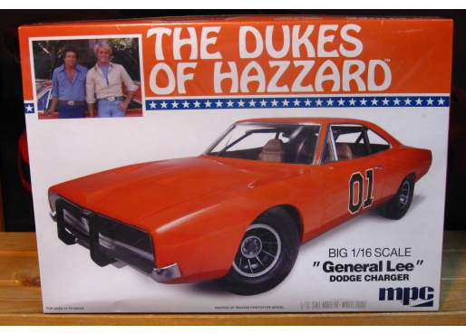 MPC Dukes of Hazzard General Lee 1/16 Scale Kit Sealed