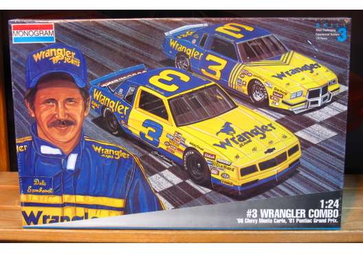 Monogram Dale Earnhardt Wrangler Combo Sealed