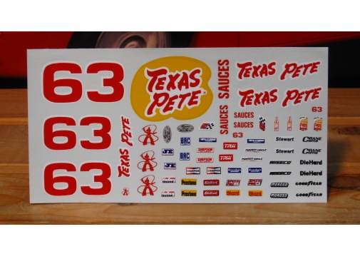 #63 Texas Pete Mike Swaim 1988 JNJ